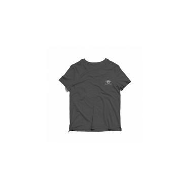 Camiseta Estonada Infantil - Chumbo