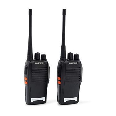 Kit 2 Radio Comunicador Baofeng Bf777s Uhf Vhf 3km Ptt