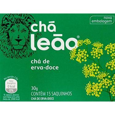 Chá de Erva Doce Leão Fuze com 15 Saquinhos