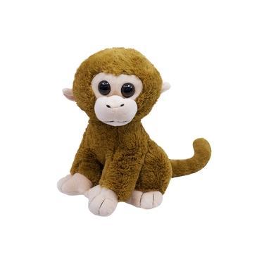 Imagem de Macaco Marrom Sentado 31cm - Pelúcia