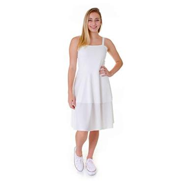 Vestido Operarock Camadas Branco