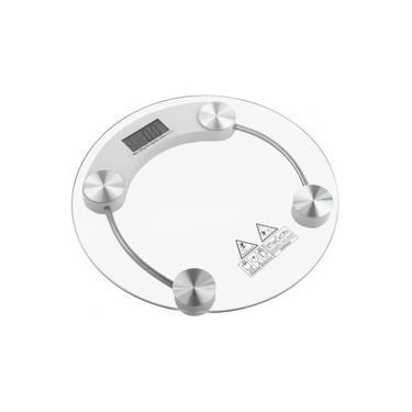 Balança 180 kg Digital Corporal vidro temperado Academia Banheiro