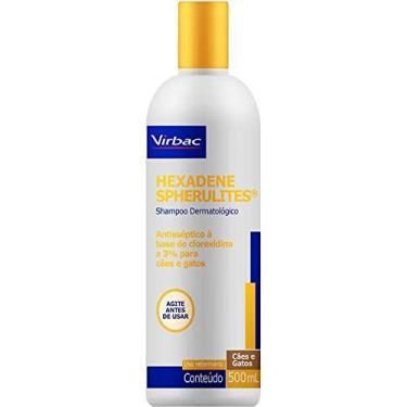 Shampoo Antisséptico Virbac Hexadene Spherulites 500ml