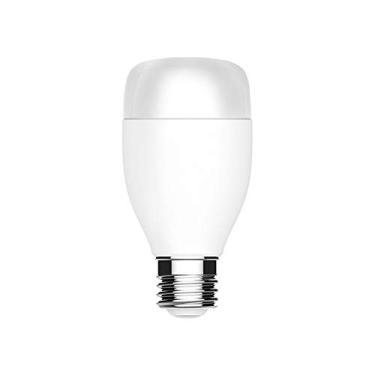 Docooler WiFi Lâmpada E27 Branco RGB Luz Inteligente Controle de Telefone Móvel 16 Milhões de Cores Interruptor de Tempo Ajuste de Temperatura de Cor 7 W Lâmpada Inteligente para Alexa Google Lâmpada