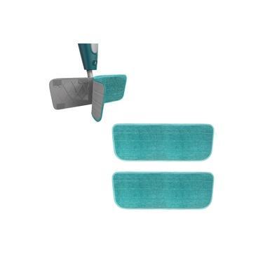 2 Refil Mop Spray Microfibra Vassoura Rodo Flash Limp