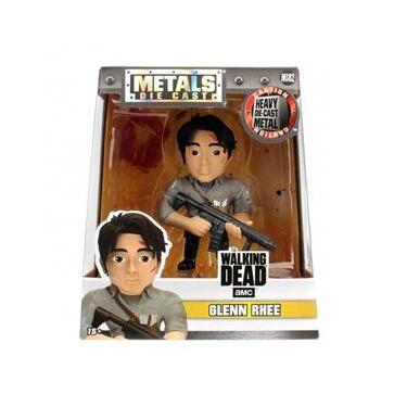 Boneco Glenn Rhee The Walking Dead Metals Die Cast Jada Toys