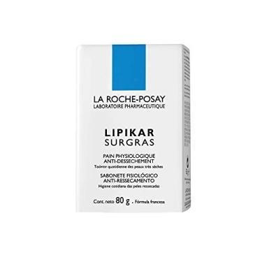 Lipikar Surgras Sabonete Fisiológico, La Roche-Posay, Branco