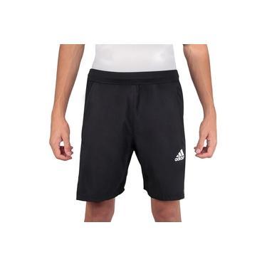 Imagem de Shorts Adidas Aeroready 3S Listras Preto e Branco