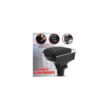 Carro Hatchback Apoio de Braço Caixa de Armazenamento Console Central Caso Suporte de Copo Para yaris vitz 06-11