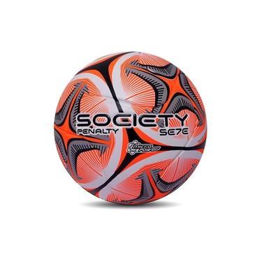 Imagem de Bola Penalty Society Se7e R1 KO X Grama Sintética Laranja
