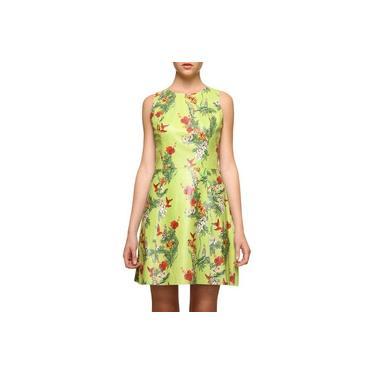 Vestido Pat Pat's Couro Floral