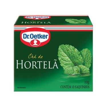 Kit c/12un Chá de Hortelã 10 sachês - Dr. Oetker