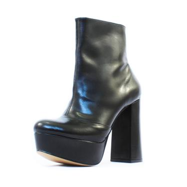ea2af638be3 Bota Damannu Shoes Amber Napa Preto feminino