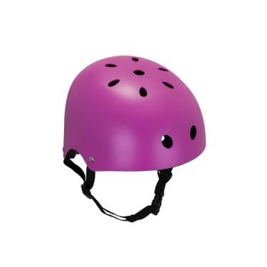 Capacete Esportivo Coquinho Regulável com 11 Entradas de Ventilação Rosa Fosco Atrio Tam. P - ES189 ES189