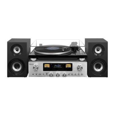 Toca Discos Raveo Concert One Rádio Fm Cd-R, Cd-Rw Bluetooth, Nfc E Usb