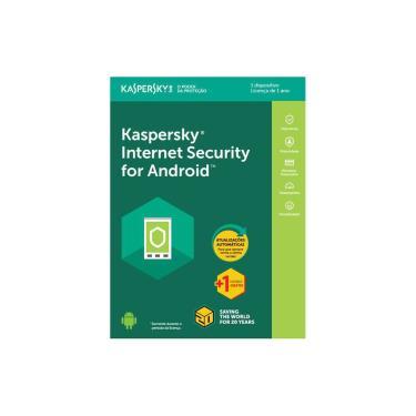 Kaspersky Internet Security for Android - licença de 1 ano - 1 Dispositivo + 1 Licença Grátis - Vers