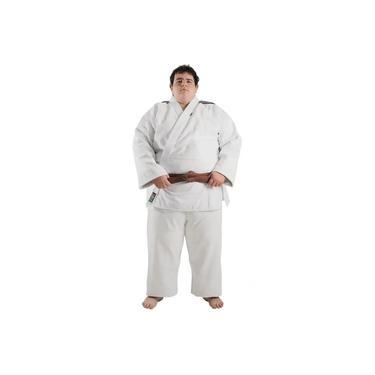Kimono Judo - Trancado - Standart - Brazilian Colors - Shiroi - Branco -