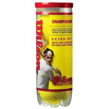 Bola De Tenis Wilson Championship - Pack 03 Bolas - 01 Tubo 23c731b15a584