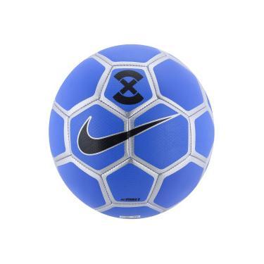 8ef315ed3d Bola de Futebol de Campo Nike Strike X - AZUL PRATA Nike