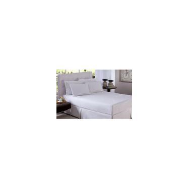 Imagem de Lençol Plano Casal Microfibra Branco - Arte & Cazza