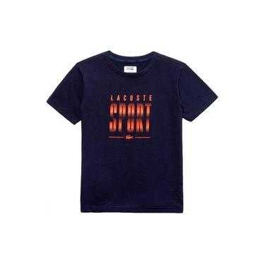 Camiseta Lacoste Tennis Training TH3491 Marinho