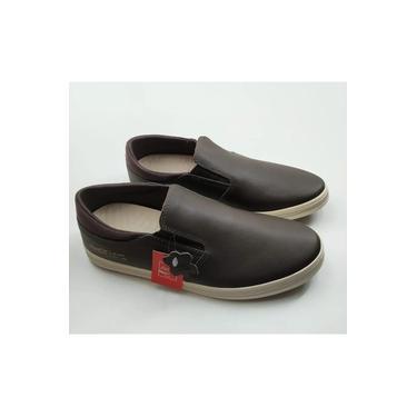 Sapatênis Sapatilha Coca-Cola Shoes Iate Sabatto Em Couro CC1829
