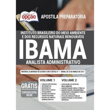 Imagem de Apostila Ibama - Analista Administrativo