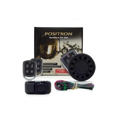 Alarme Para Motos Pósitron Duoblock PX 350 G8 Universal - Com Sensor de Presença e Movimento