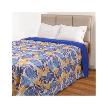 Cobertor Casal 220x190cm com Enchimento de Fibras Algodão