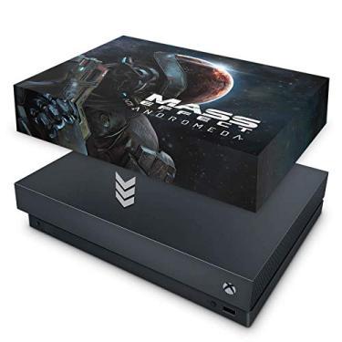 Capa Anti Poeira para Xbox One X - Mass Effect: Andromeda