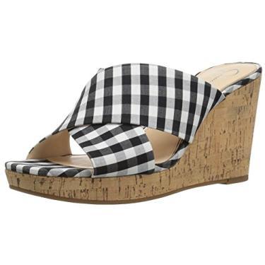 Jessica Simpson sandália feminina Seena anabela