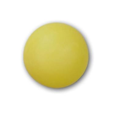 Bolas / Bolinhas De Ping Pong Amarela Pacote Com 6 Unidades