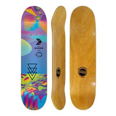 """Shape Cisco Skate Fiber Decks Neon Blue 8"""""""