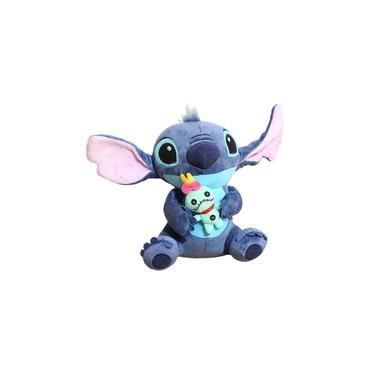Imagem de Stitch Com Xepa Scrump Bicho de Pelucia Lilo Disney