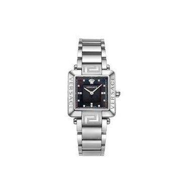 2268b9cf465 Relógio De Pulso Feminino Versace V232 Caixa e Pulseira Aço