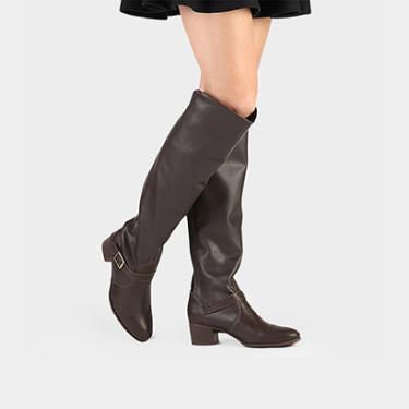 Bota Over The Knee Bottero Fivela Feminina - Feminino d81afbbe69220