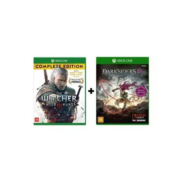 Combo The Witcher 3 Complete Edition + Darksiders 3 ( Day One ) - Xbox One