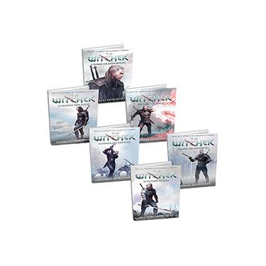 Kit Livros - Saga The Witcher Capa Game (6 livros)