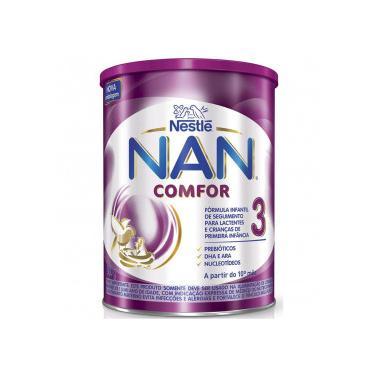 Nan Comfor 3 Fórmula Infantil Nestlé Lata 800g