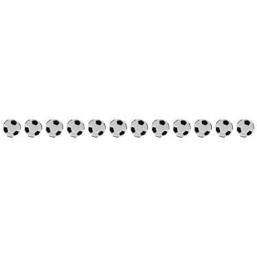 (Soccer Balls) - Eyelet Outlet Shape Brads 12/Pkg