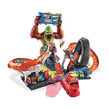 Imagem de Pista Ataque Tóxico do Gorila Hot Wheels, GTT94, Mattel