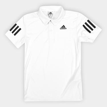 fa8125a9b6 Camisa Polo Infantil Adidas B Club Proteção UV Masculina - Masculino