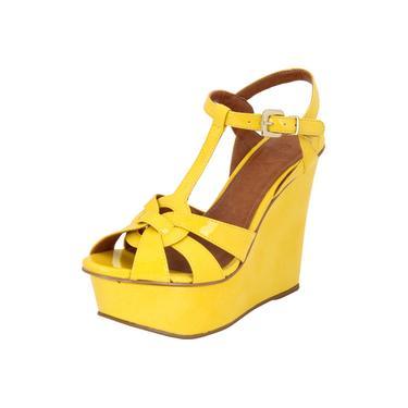 Sandália Plataforma My Shoes Verniz