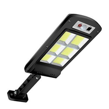 Lâmpada de rua LED solar Adaskala, sistema de controle de luz inteligente à prova d'água, suporte ajustável com 3 modos de sensor de controle remoto, adequado para jardins, ruas, decks, cercas, terraços, caminhos
