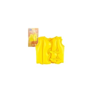 Imagem de Colete Inflável Infantil 41x51cm Amarelo Mor