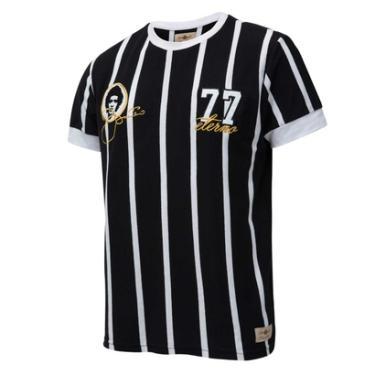 Camisa Corinthians Retrô Gol Basílio Torcedor Masculina - Masculino 56545c3613a1b