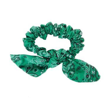 Laço de tecido único jarvy Verde