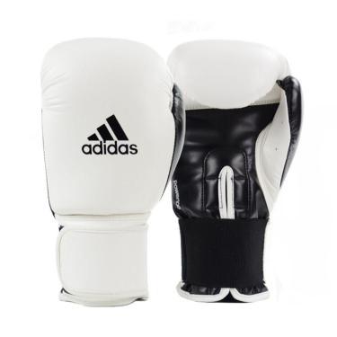 Luva De Boxe Power 100 Branco/Preto 16Oz Adidas