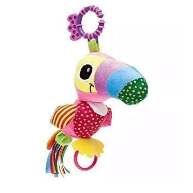 Imagem de Chocalho Mordedor Colorido Tucano Zuzu Buba Toys