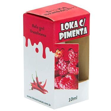 Imagem de LOKA COM PIMENTA GEL COMESTÍVEL 10ML FRAMBOESA